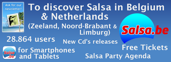 Salsa Party Flyer - Salsa.be - Salsa Agenda Belgie / Belgium