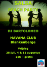 Salsa Beach Party - Havana Club - Salsa Blankenberge